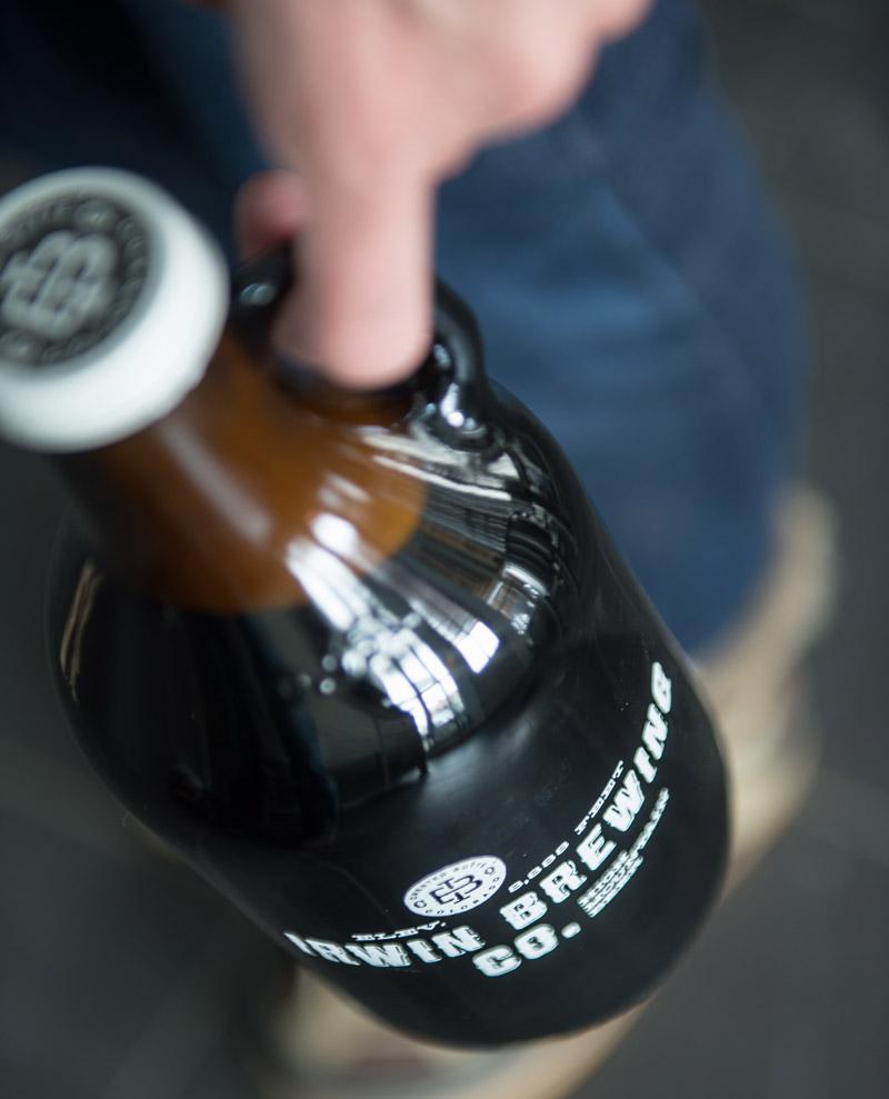 Irwin Brewing Company Growlers