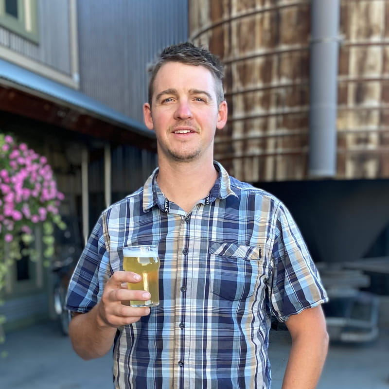 Sean Feese Operations Manager Irwin Brewing Co